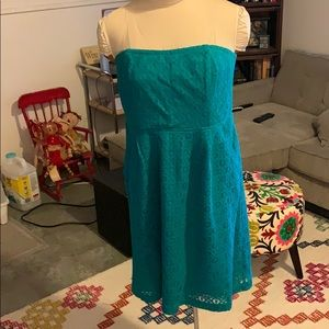 Turquoise Fossil dress